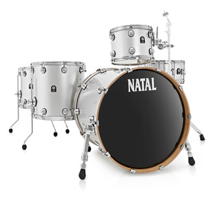 Natal Aluminium Wrap Shell Pack With 14 x 6.5 Matching Snare