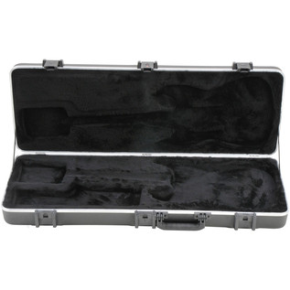 SKB Pro Rectangular Electric Guitar Case - Front Open