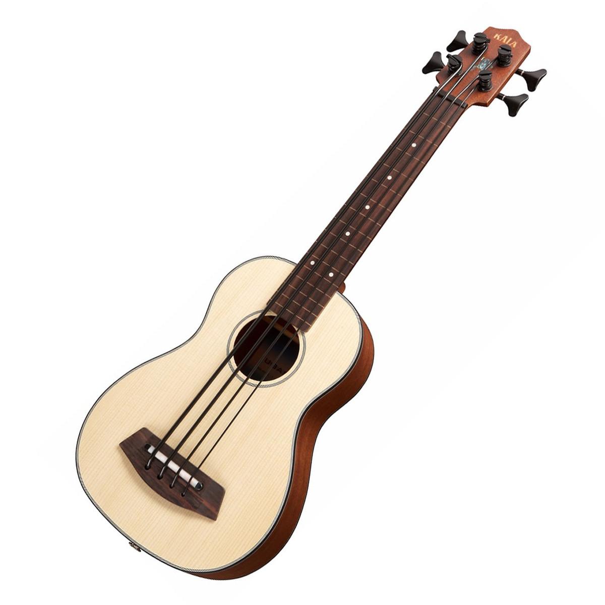 kala u bass ssmhg fl electro acoustic bass ukulele fretless at gear4music. Black Bedroom Furniture Sets. Home Design Ideas