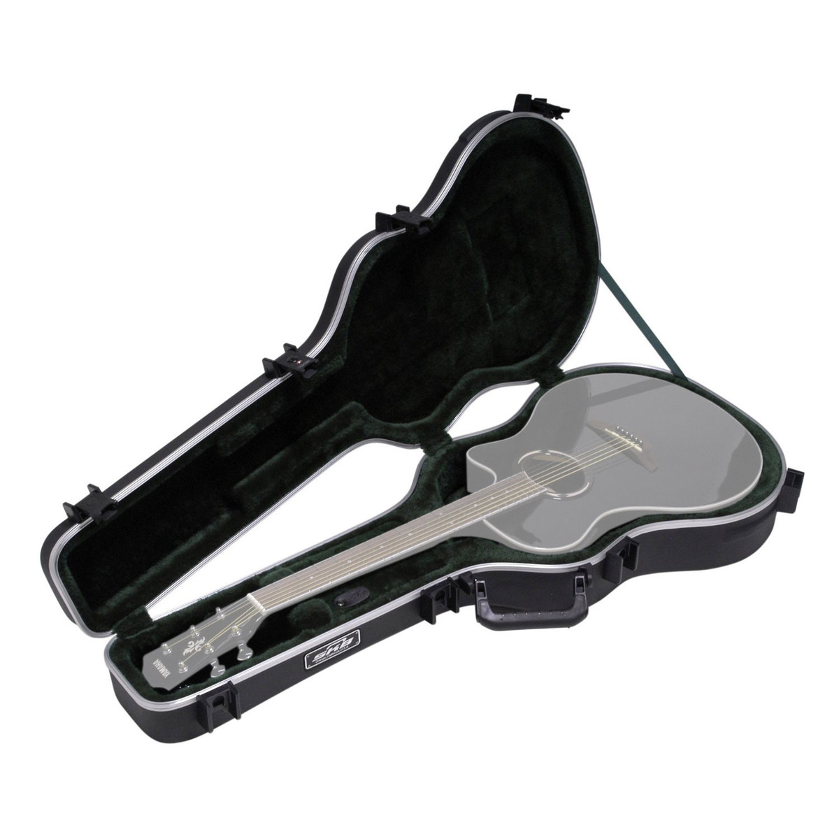 skb thin line ae classic hardshell guitar case at gear4music. Black Bedroom Furniture Sets. Home Design Ideas