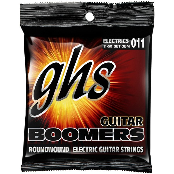 GHS Boomers Guitar Strings Medium 11-50