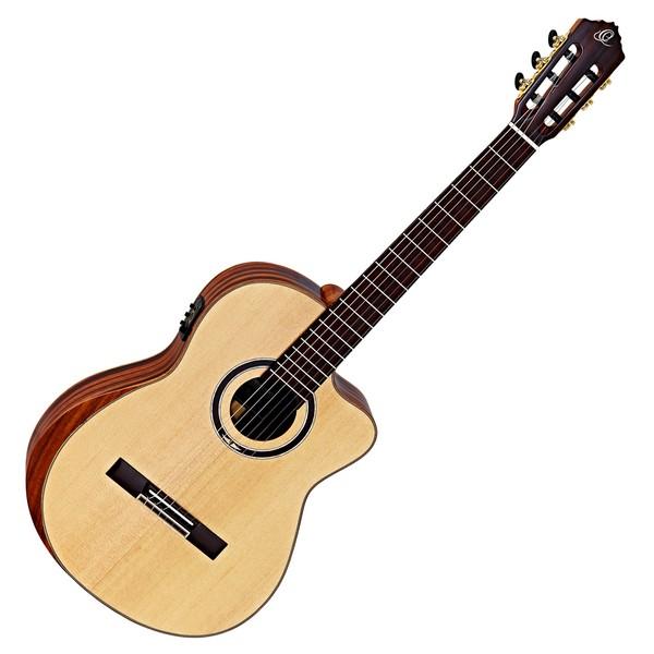 Ortega Striped Suite C/E Private Room Classical Guitar