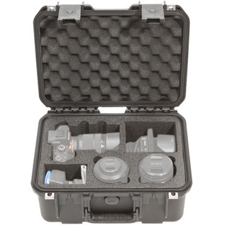 iSeries Injection Moulded Waterproof Camera Case For Sony A7 - Front