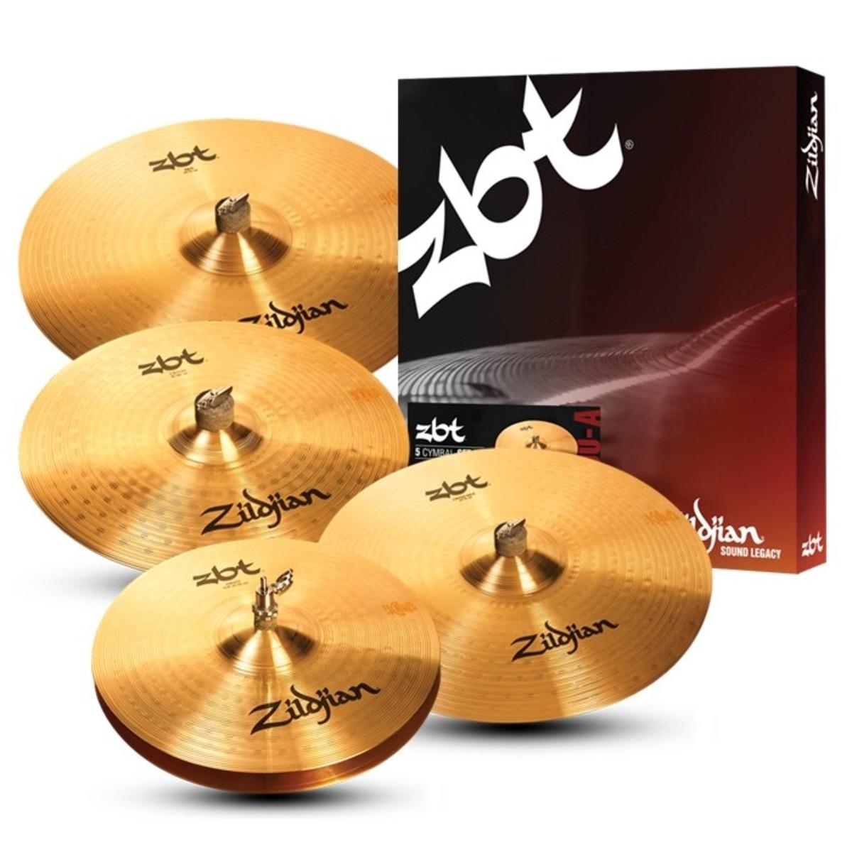 aebeac78d467 Zildjian ZBT Pro Box Set with FREE 18   Crash Cymbal - Ex Demo at Gear4music