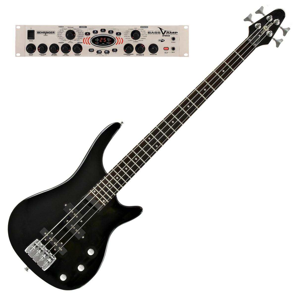 disc miami bass guitar behringer bass v amp pro black at. Black Bedroom Furniture Sets. Home Design Ideas