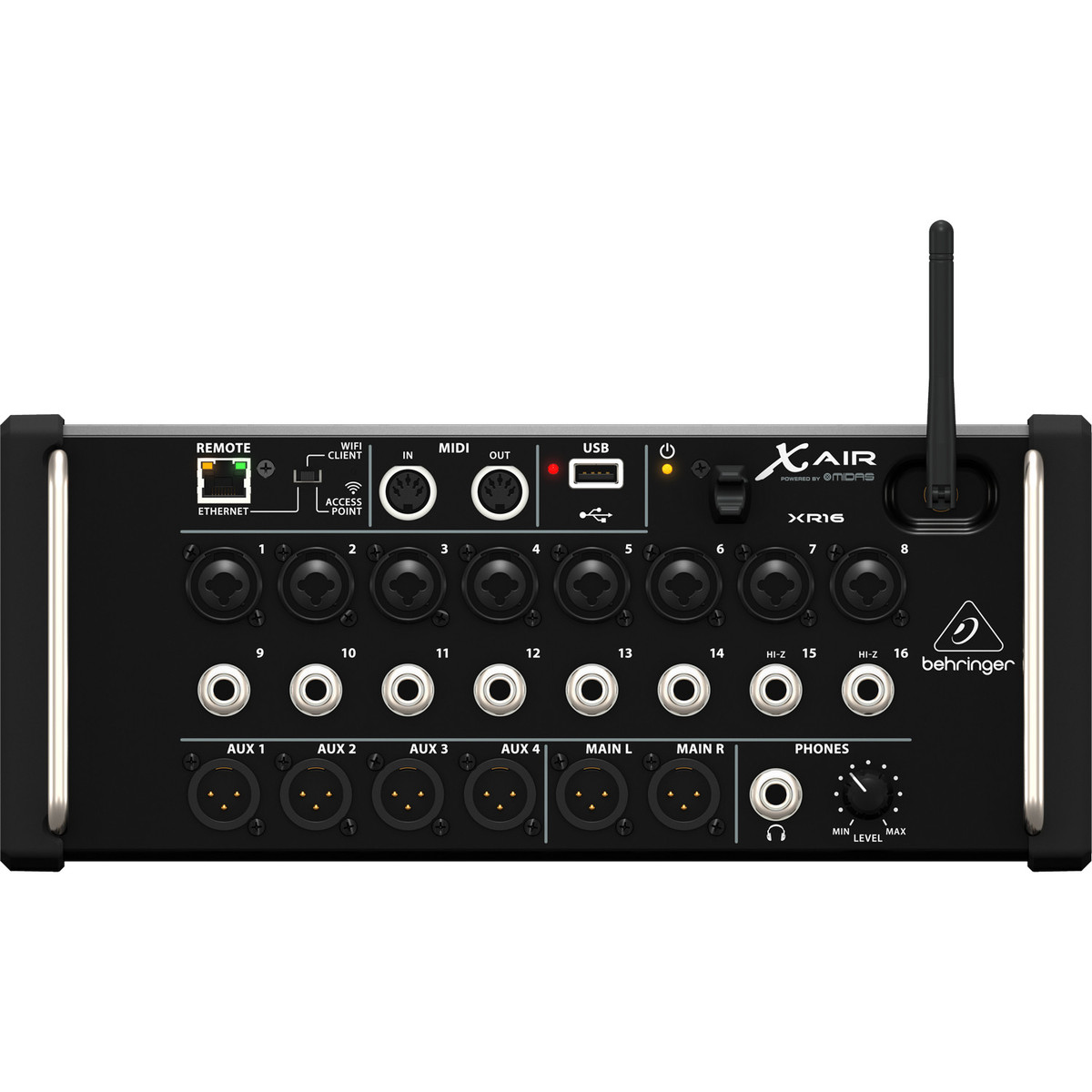 behringer x air xr16 16 channel digital mixer nearly new at gear4music. Black Bedroom Furniture Sets. Home Design Ideas