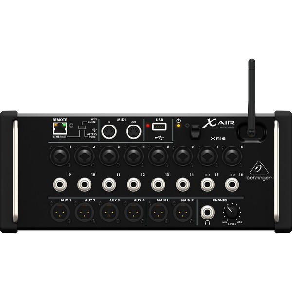 Behringer X AIR XR16 16-Channel Digital Mixer - iPad/Android Tablets