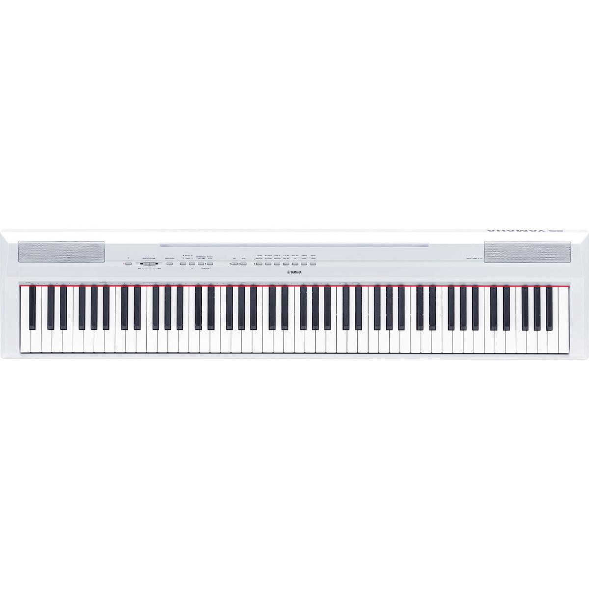 Yamaha p115 digital piano white nearly new at for Digital piano keyboard yamaha