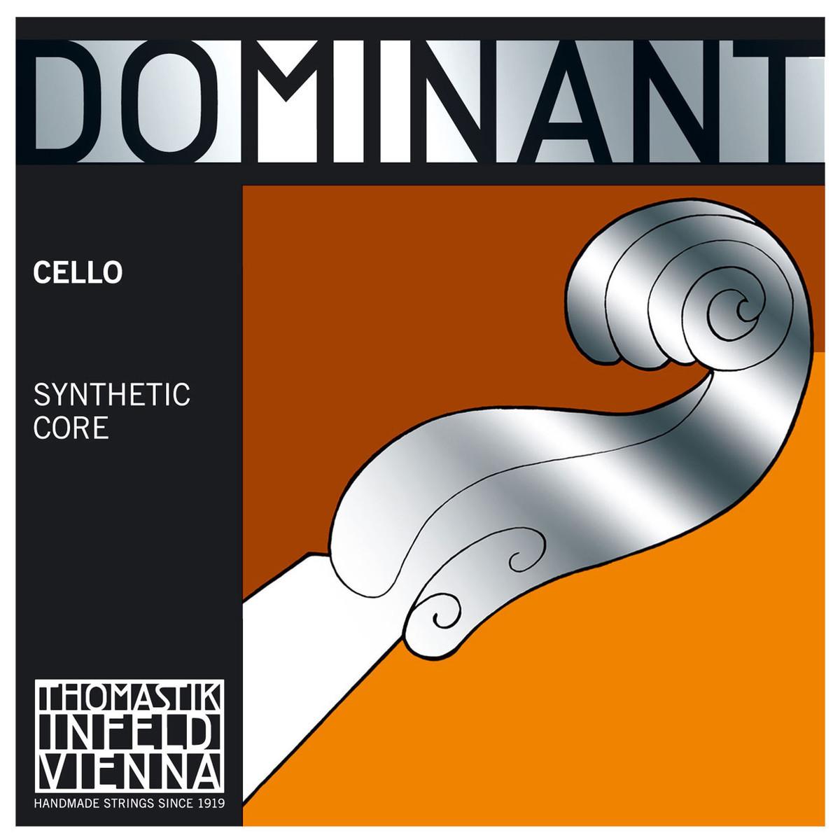 Thomastik Dominant 142w 4 4 Cello A String Chrome Wound Weak