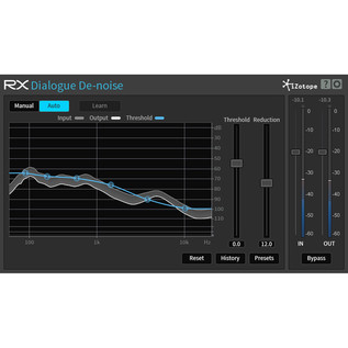 iZotope RX Plug-in Pack, Dialogue De-Noise