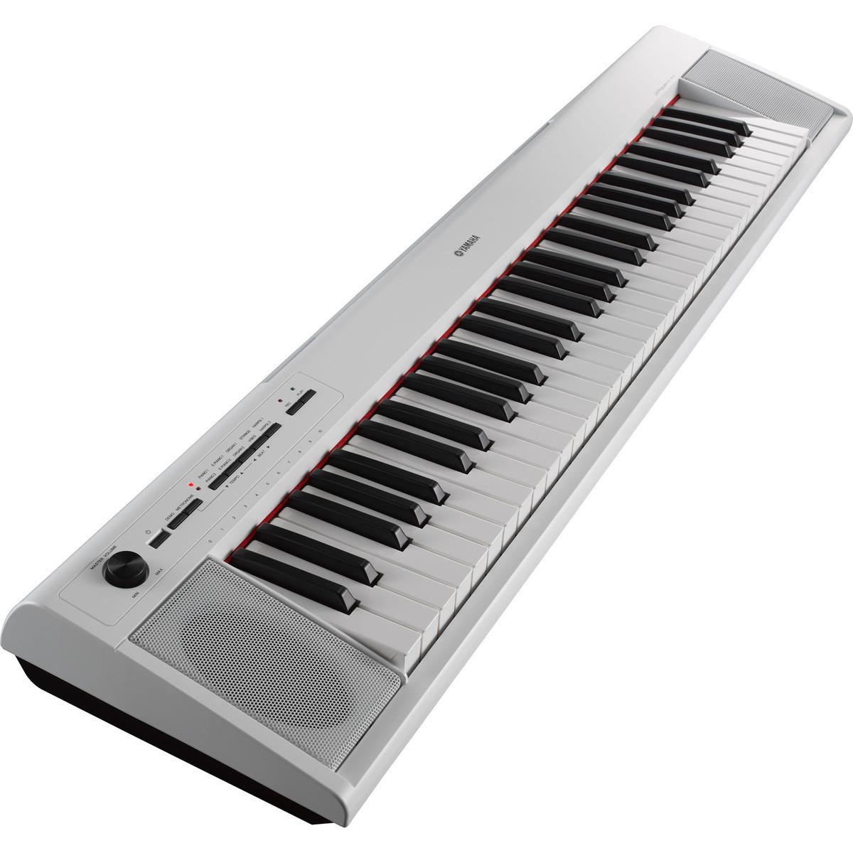 yamaha piaggero np12 portable digital piano white inc accessories at gear4music. Black Bedroom Furniture Sets. Home Design Ideas
