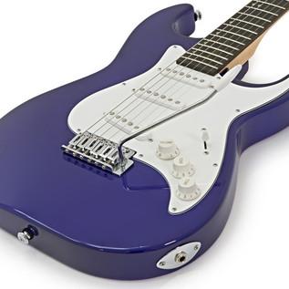 Greg Bennett Malibu MB-1 Electric Guitar + Amp Pack, Midnight Blue