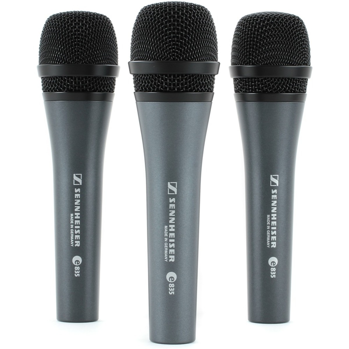 Click to view product details and reviews for Sennheiser E835 Cardioid Vocal Mic 3 Pack.