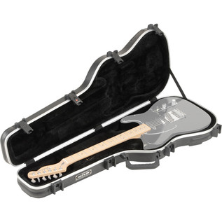 SKB Standard Electric Guitar Case - Case Open (Guitar Not Included)