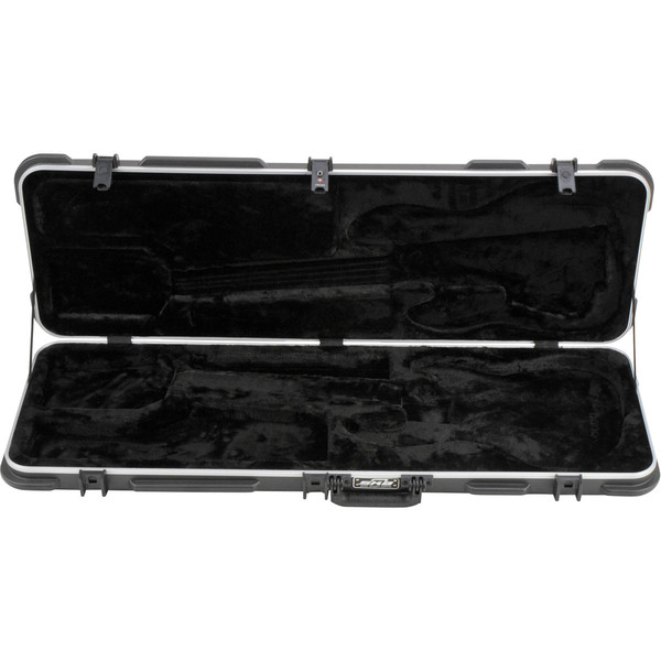 SKB Electric P/J Type Bass Hardshell Case - Case Open 2