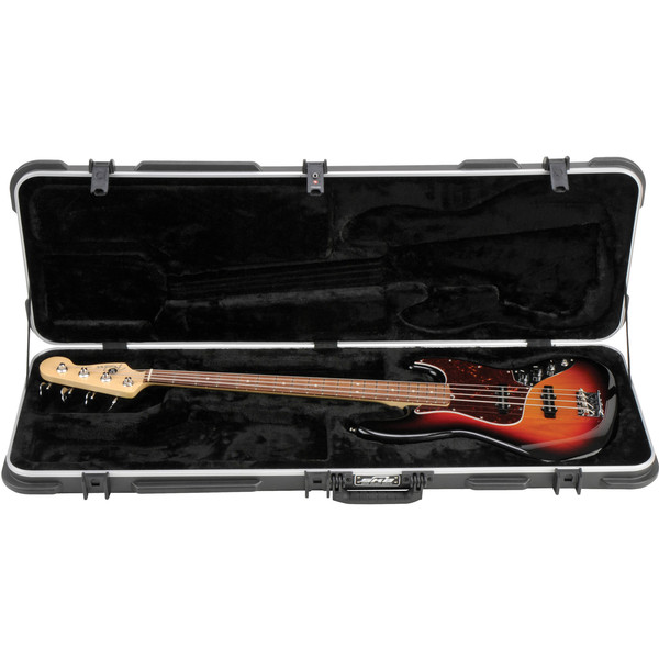 SKB Electric P/J Type Bass Hardshell Case - Case With Guitar (Guitar Not Included)