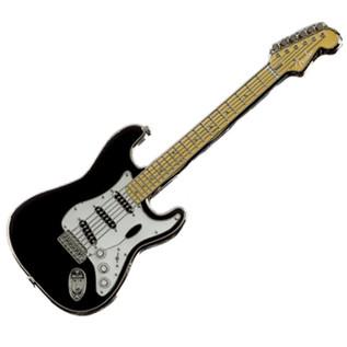 Fender Stratocaster Pin, Black
