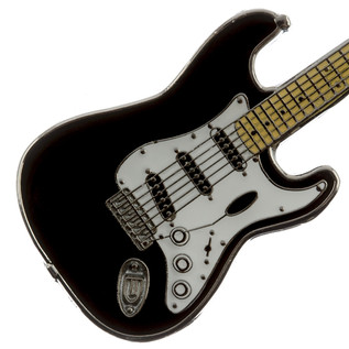 Fender Stratocaster Pin, Black