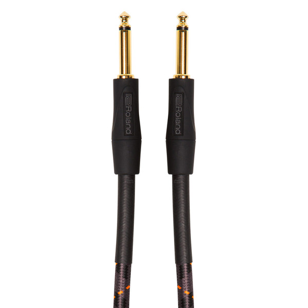 Roland Straight Instrument Cable, 20ft/6m