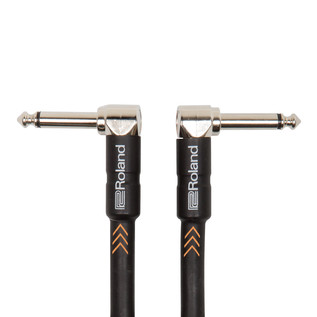 Roland Angled Instrument Cable, 3ft/1m