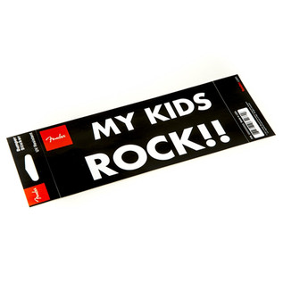 Fender Bumper Sticker My Kids Rock