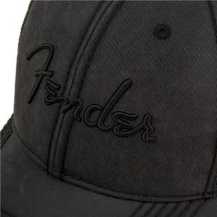 Fender Blackout Trucker Cap, Grey