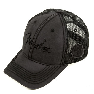 Fender Blackout Trucker Cap, Grey