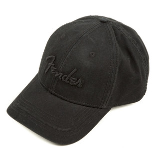 Fender Blackout Baseball Hat, Black