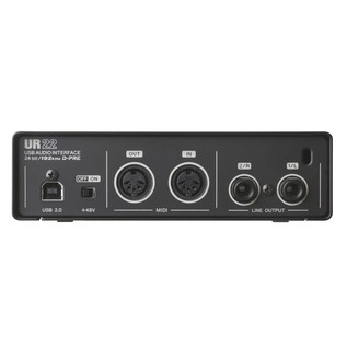 Steinberg UR22 Mk 2 USB Audio Interface Back Panel