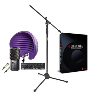 Steinberg Ultimate Vocal Recording Bundle, Includes Cubase Pro 8.5