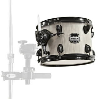 Mapex Mars 8'' x 7'' Tom Pack with Clamp, Bonewood