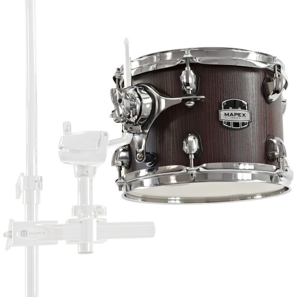 Mapex Mars 10'' x 7'' Tom with Clamp, Bloodwood