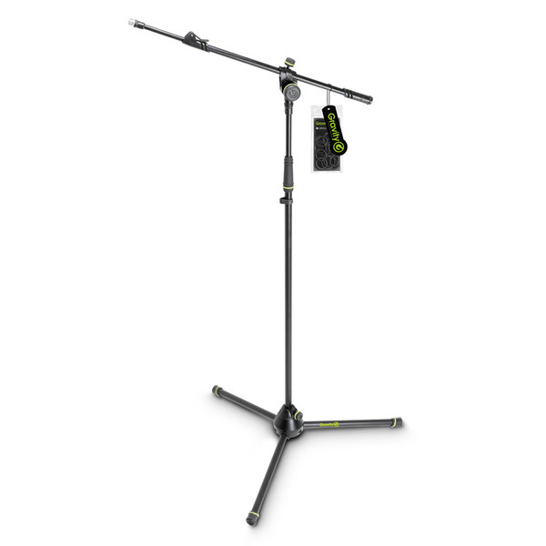 Gravity GMS4322B Microphone Stand with Telescopic Boom