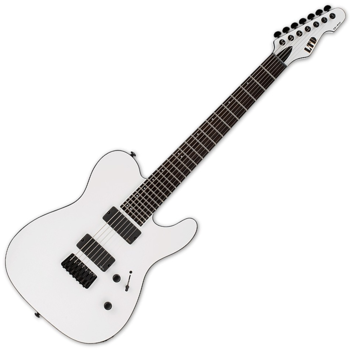 Esp Ltd Te 417 Electric Guitar Snow White Satin At Gear4music Emg707 Ibanez Wiring Help Sevenstringorg
