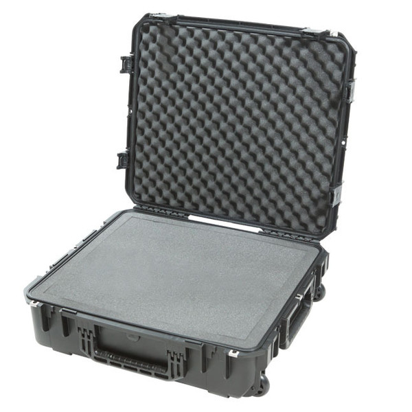 SKB iSeries 2421-7 Waterproof Utility Case w/ Cubed Foam - Angled (Left)