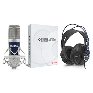 Steinberg Cubase Artist 8.5 Vocal Recording Bundle
