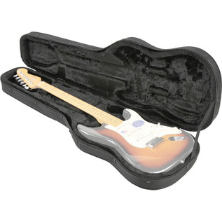 SKB SCFS6 Universal Electric Guitar Soft Case - Open (Guitar Not Included)