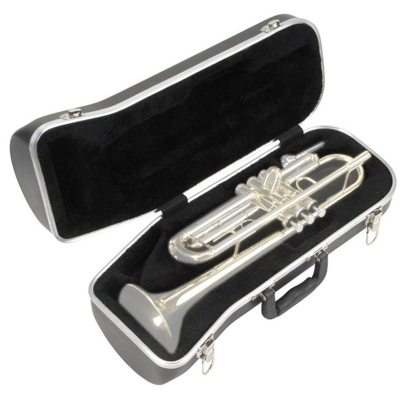 SKB Contoured Trumpet Case - Open (Trumpet Not Included)