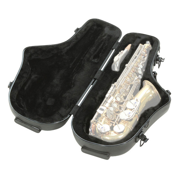 SKB Contoured Pro Alto Sax Case - Open (Contents Not Included)