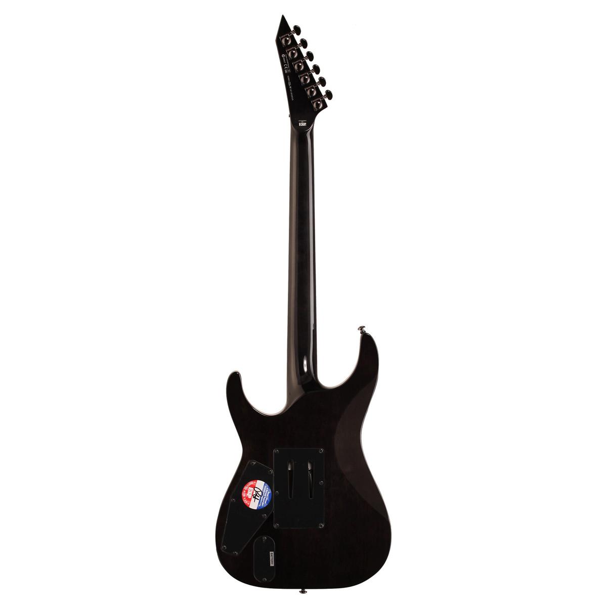 Esp Ltd Mh 1001 Electric Guitar See Thru Black Ex Demo At Gear4music Emg 81 85 Humbucker Active Pickups Set Loading Zoom