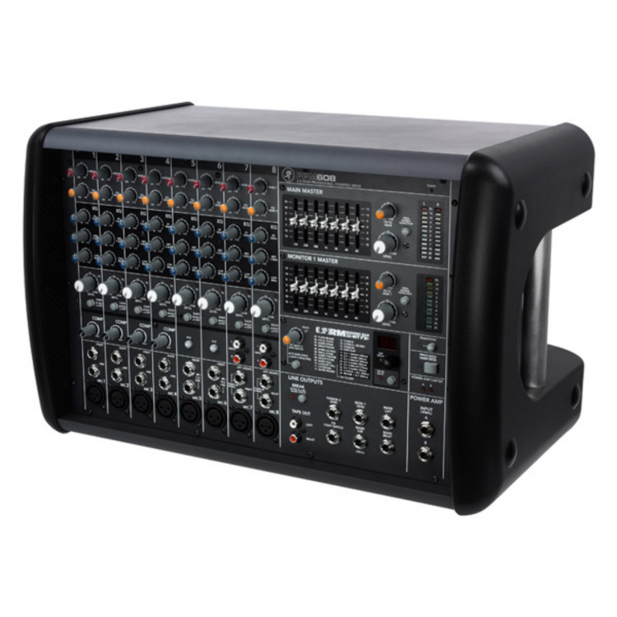 mackie ppm608 8 channel powered mixer ex demo at gear4music com rh gear4music com Fat Sounding Analog Mixer Mackie mackie ppm608 service manual