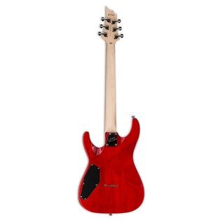 ESP LTD H-101FM Electric Guitar, See Thru Red
