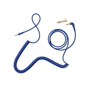 AIAIAI TMA-2 C08 Blue Cable, 1.5m Coiled