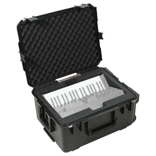 SKB Waterproof Case for Korg MS20 Mini Synthesizer - Angled View 2 (Synth Not Included)