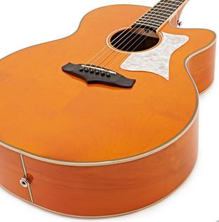 Tanglewood Evolution Viscount TSJ V3 Electro Acoustic Guitar, Orange