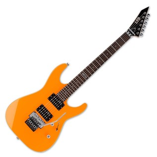 ESP LTD M-50FR Electric Guitar, Neon Orange