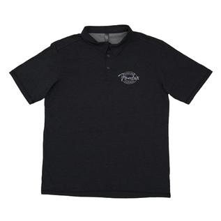 Fender Industrial Polo Shirt, Black, Large