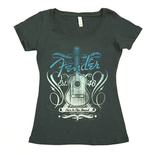 Fender Ladies This Is The Sound T-Shirt, Medium