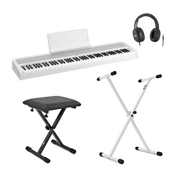 Korg B1 Digital Piano X Frame Package, White