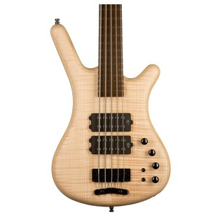 Warwick Corvette $$ 4-String Bass Guitar, Natural